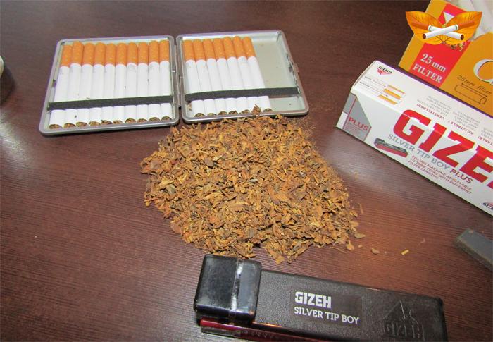 Мой первый табак.